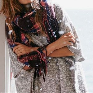 Accessories - Aerie Bonfire Blanket Scarf